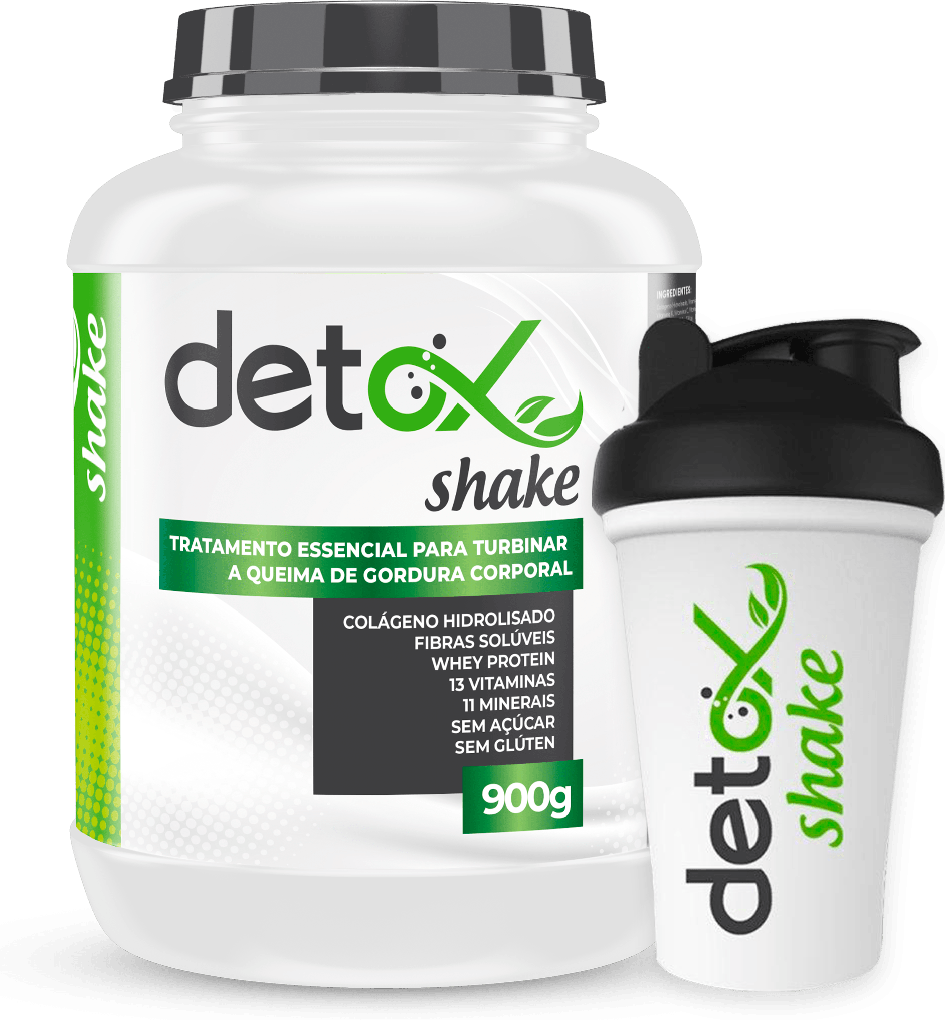 detox shake é bom